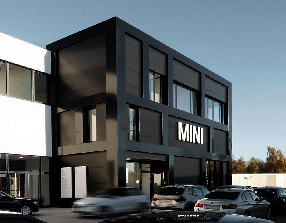 MINI Markenarchitektur